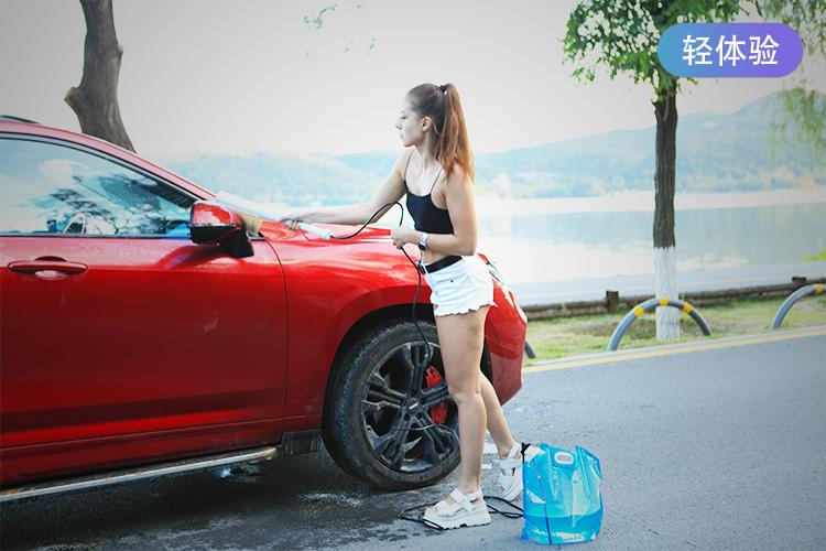 【轻众测】素洗便携洗车器