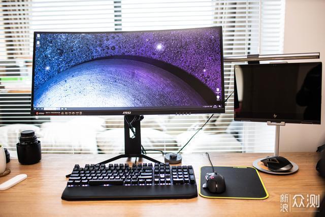 2020桌面新装备,微星PAG303CR显示器开箱体验_新浪众测