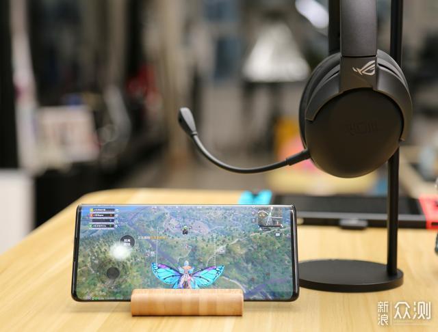 ROG首款Type-C 2.4G无线游戏耳机:ROG风行go_新浪众测