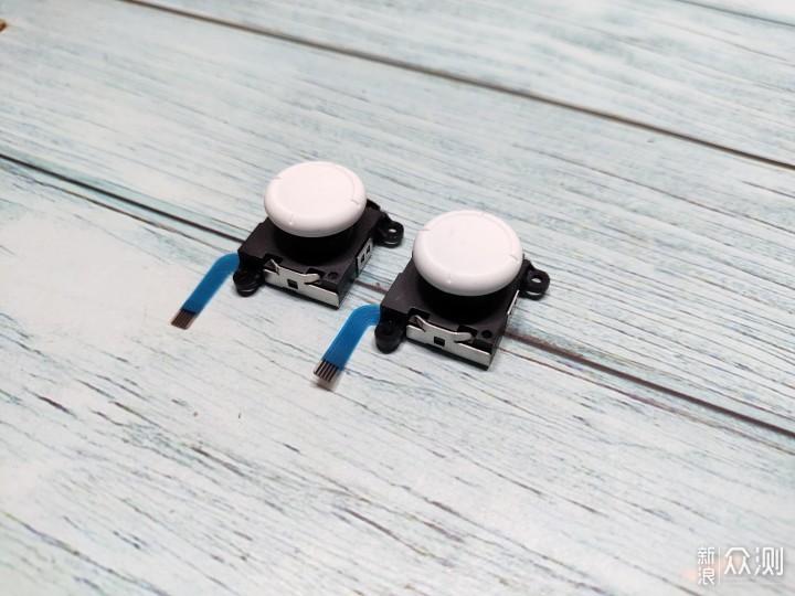50元搞定Switch双手柄的摇杆更换&换壳改色_新浪众测