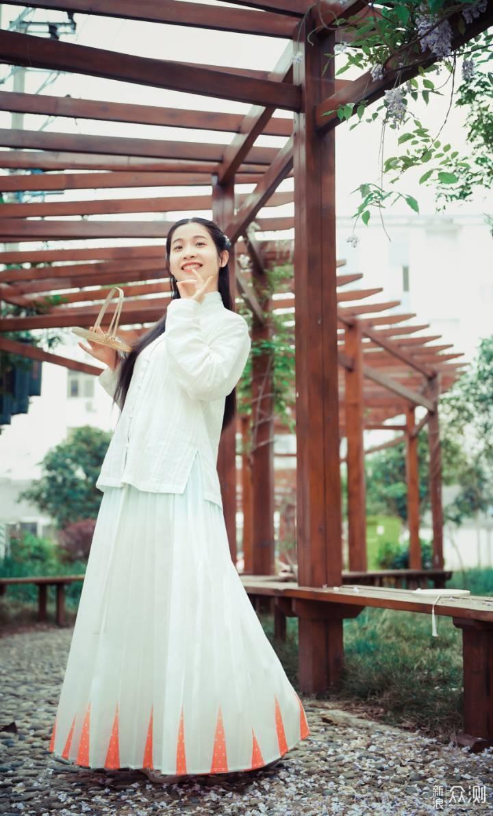 #摄影#汉服小姐姐,元气满满的一天_新浪众测