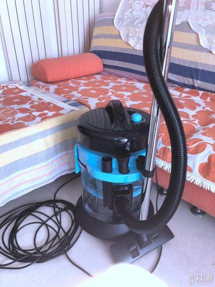 扫地机完美搭档-海尔水吸尘器HC-T5155B评测_新浪众测