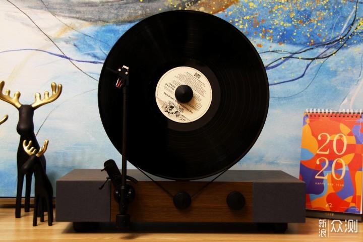 Floating Record立式黑胶唱机-感受怀旧的经典_新浪众测