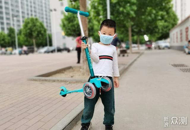 体验瑞士m-cro儿童滑板车,静+顺+轻_新浪众测
