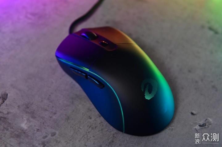 轻量电竞RGB 你和冠军只差一个达尔优A960鼠标_新浪众测