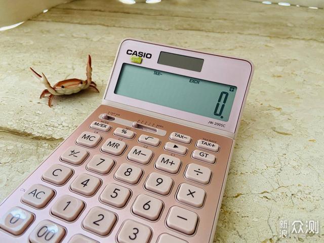小姐姐的心头好,卡西欧计算器开箱评测_新浪众测