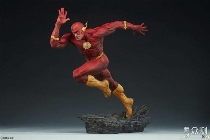 Sideshow 闪电侠(The Flash )17寸PF雕像_新浪众测