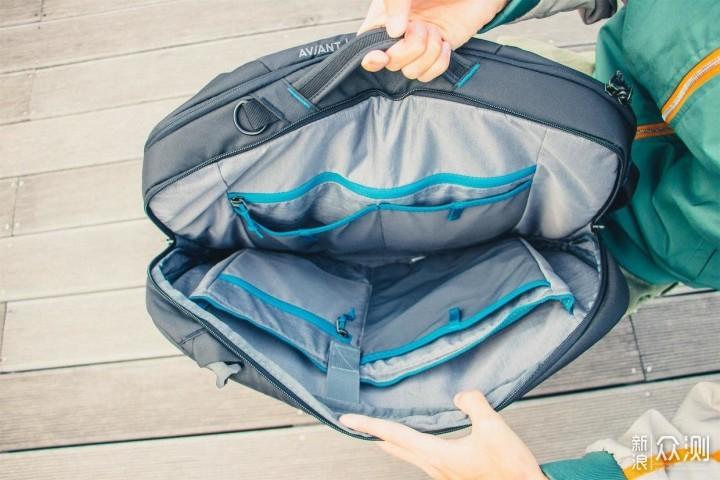 商务旅行包就该这么能装-deuter商务双肩包_新浪众测