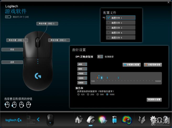 刚开始看着有些丑,罗技GPW Pro鼠标 上手体验 _新浪众测