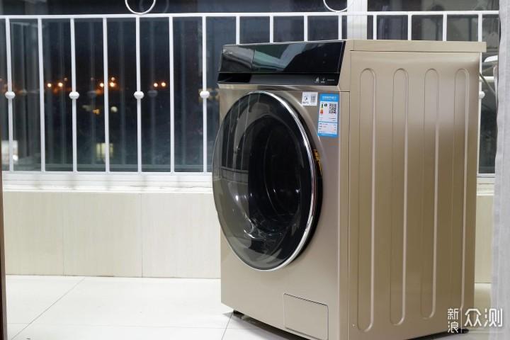 亿万气泡超强去污,小天鹅洗烘一体洗衣机体验_新浪众测