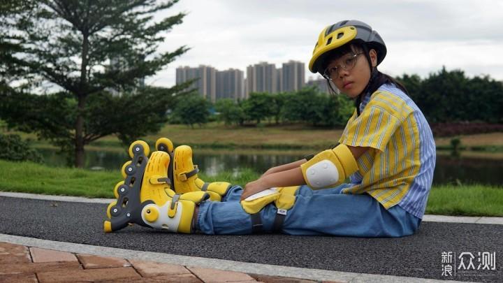 孩子成长的礼物,让自信心满满的柒小佰轮滑鞋_新浪众测
