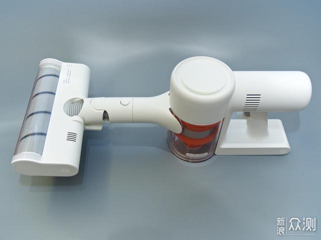米家无线吸尘器K10到手测:不止是多了块屏_新浪众测