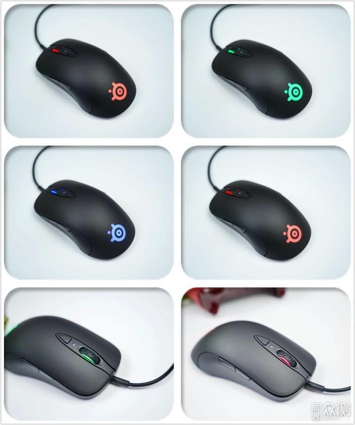 赛睿上市十年纪念鼠标,颜值依旧,性能依旧_新浪众测