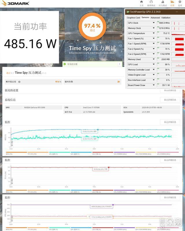 #大玩家#RTX3080/3090显卡的电源选购攻略_新浪众测