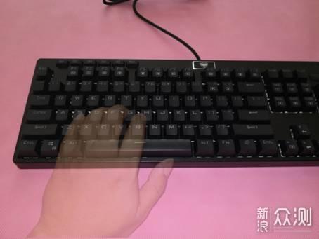 懂你想要什么:超频三GI801机械游戏键盘评测_新浪众测