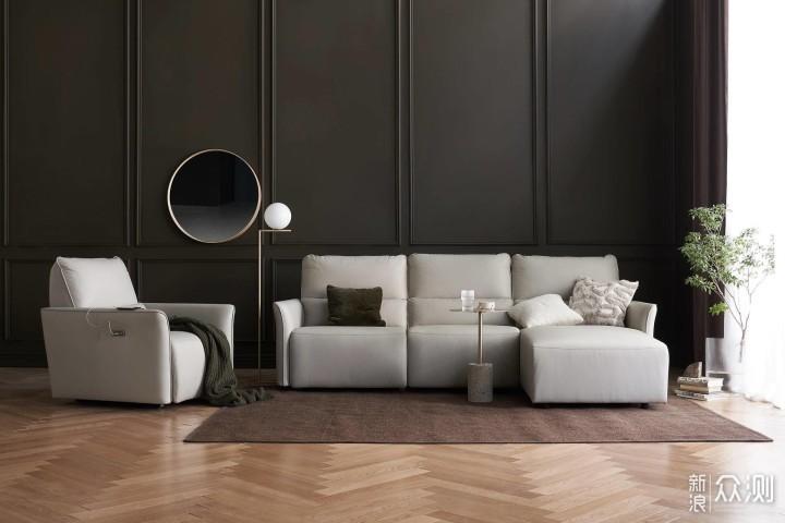 好家居需要配好沙发,戚风科技皮电动沙发_新浪众测