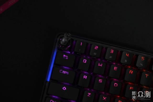 我可不是最终幻想里的黑魔导士ROG魔导士键盘_新浪众测