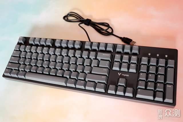 体验敲击的乐趣-雷柏V860-104机械键盘_新浪众测