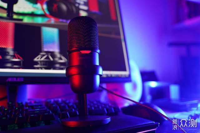 专业收音:HyperX SoloCast 声脉迷你麦克风_新浪众测