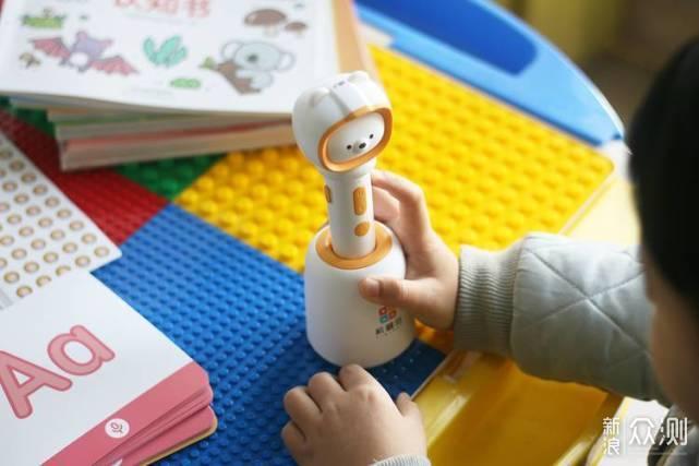 0-8岁儿童的良师益友——机器岛AI双点笔体验_新浪众测
