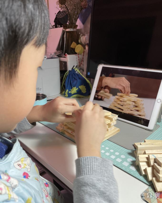亲子游戏之建构积木条玩法大揭秘_新浪众测