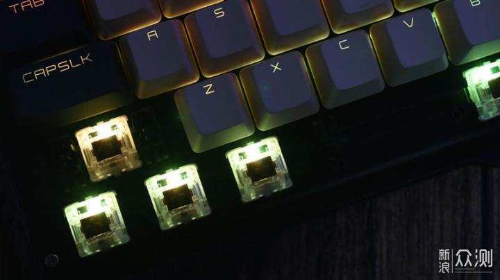 贱的有依有据-贱驴619RS机械键盘_新浪众测