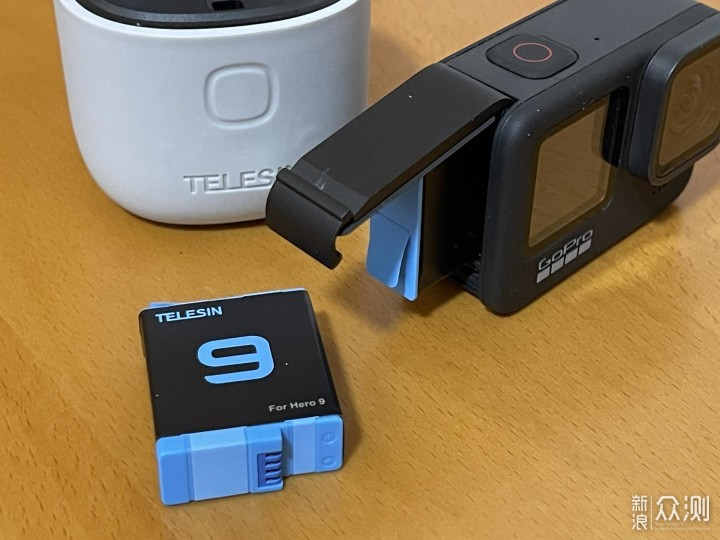三位一体-GoPro9泰迅ALLIN BOX收纳充电盒体验_新浪众测
