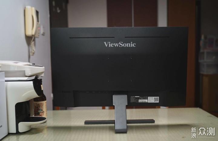 可盐可甜的选择,优派VX2771电竞显示器体验。_新浪众测
