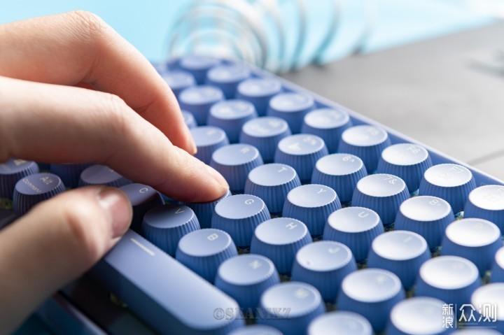 雷柏 ralemo Pre 5 无线蓝牙机械键盘_新浪众测