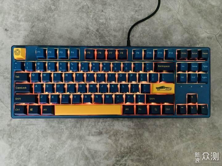 捕捉者KT87鹦鹉螺机器键盘体验_新浪众测