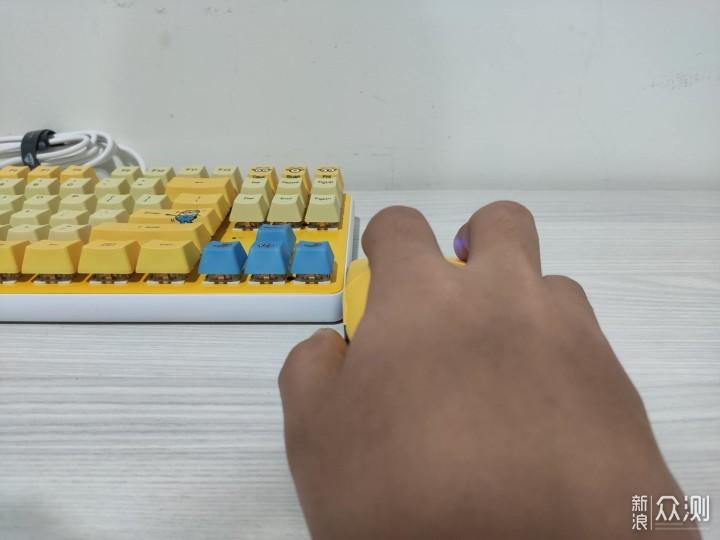 实力和萌力结合,机械师小黄人联名键鼠测评_新浪众测