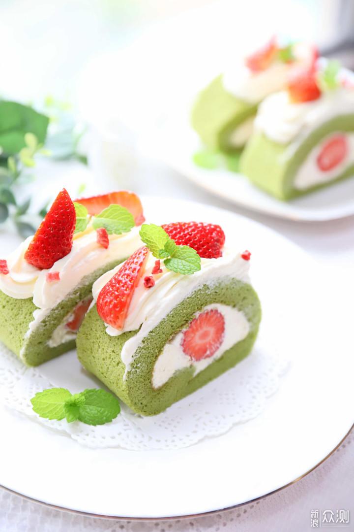 二十九张图,详解抹茶蛋糕卷的做法_新浪众测