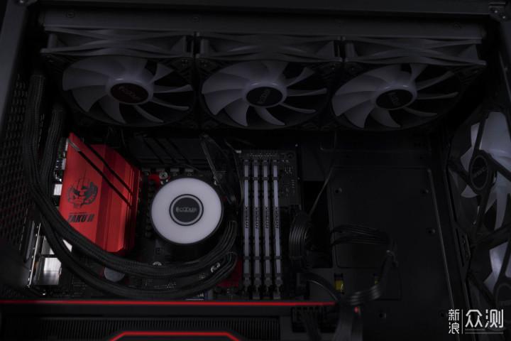 5600X何德何能,超频三巨浪360PRO散热开箱_新浪众测