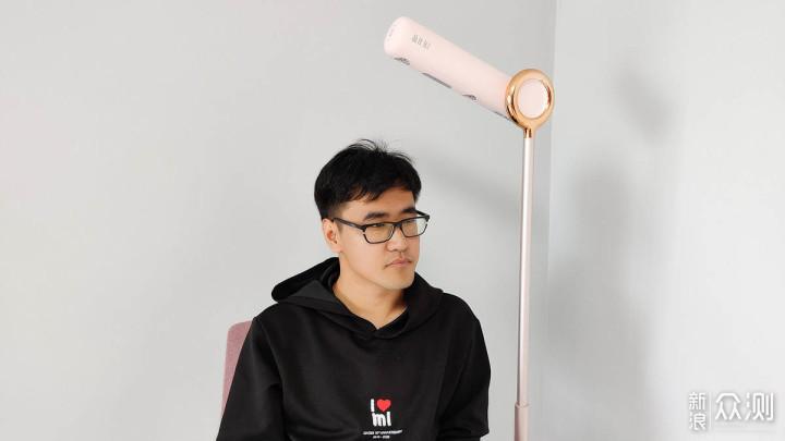 品仕乐立式吹风机:自由干发 解放双手_新浪众测