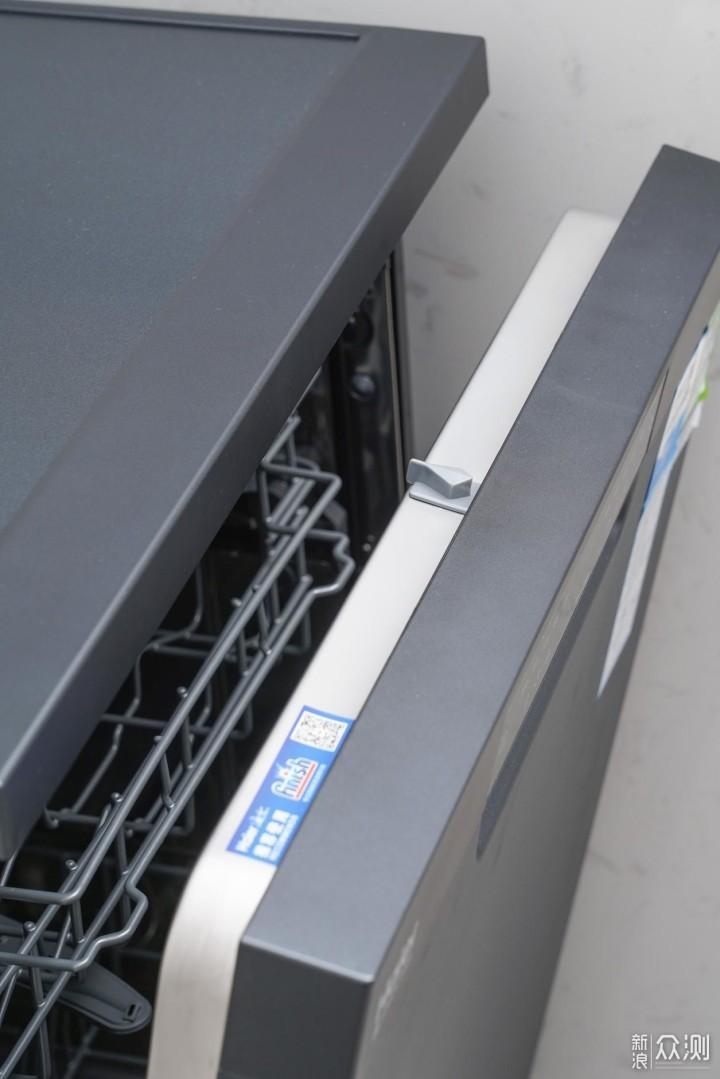 自动开门存碗的洗碗机--海尔G5洗碗机利用评测_新浪众测
