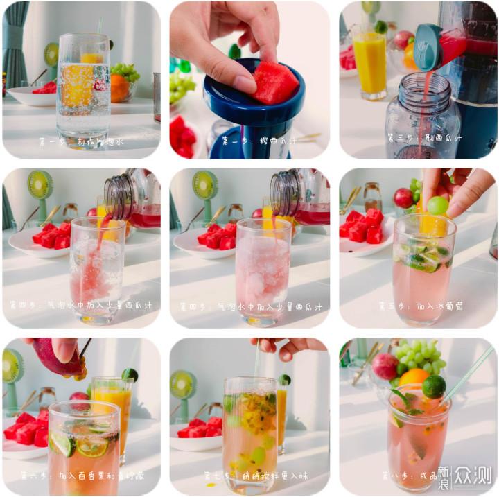 果汁+气泡水,摩飞气泡原汁机评测_新浪众测