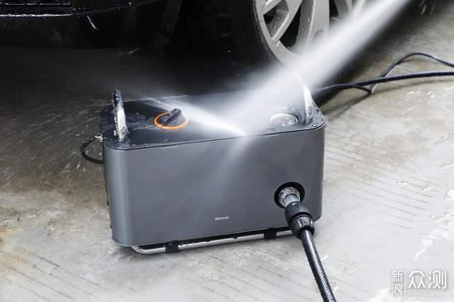 自己洗车也挺香,倍思高压洗车机初体验_新浪众测