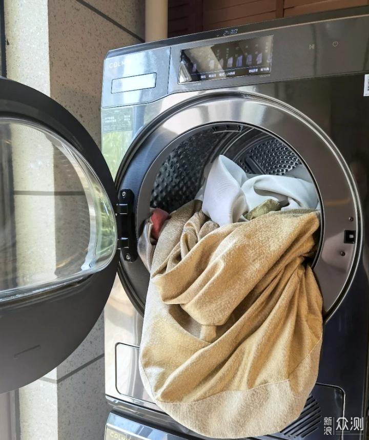 COLMO星图洗烘套装,黑科技加持,为健康护航_新浪众测
