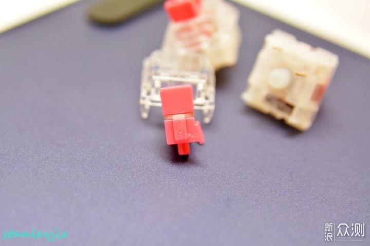 TTC新轴体逐个尝鲜第七番之静音红轴V3_新浪众测