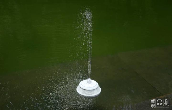 夏日水中瞩目焦点——Whale 水上喷泉蓝牙音箱_新浪众测