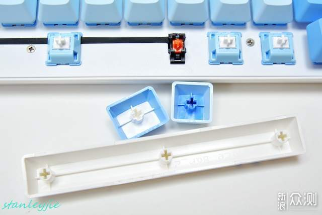 达尔优A87天空版机械键盘评测_新浪众测