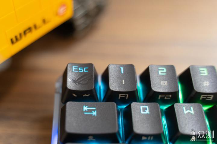 细节控的盛宴,ROG魔导士NX山楂红轴机械键盘_新浪众测
