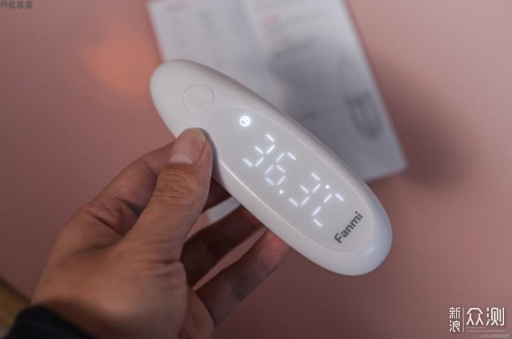 一秒完成体温测量,小孩睡觉也能用_新浪众测