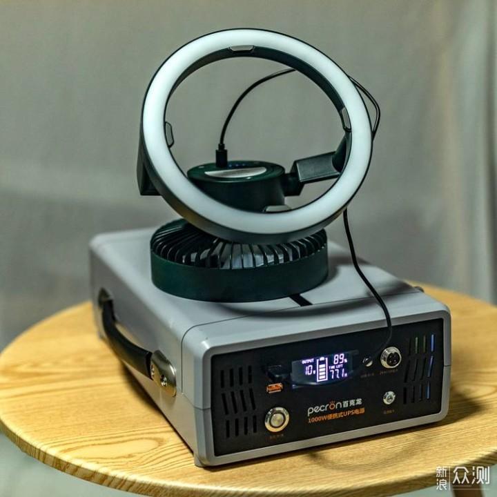 百克龙B1000便携式UPS电源为工作室保驾护航_新浪众测