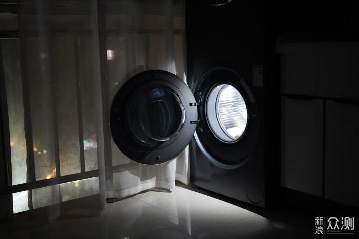 闭眼买的洗烘套 海尔叠黛和美一体洗干护理机_新浪众测