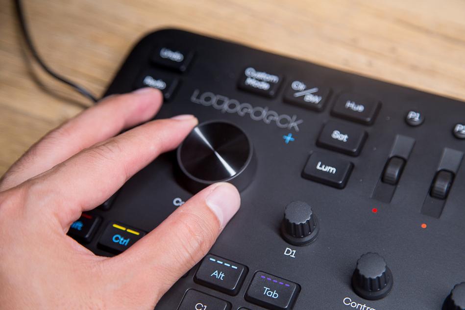 Loupedeck+快捷调色键盘,专业人士的好帮手