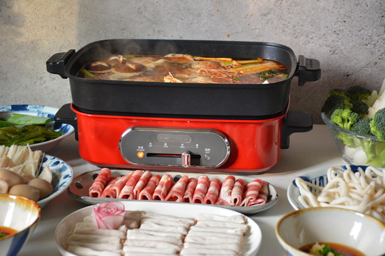 摩飞电烤锅,一锅可多用但电源线稍短