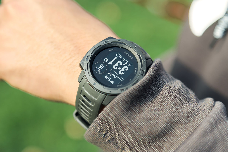 我眼中户外智能手表最好的形态:佳明Instinct