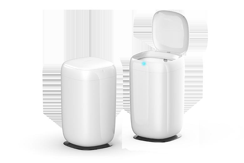 【轻体验】踢踢Mini智能垃圾桶免费试用,评测