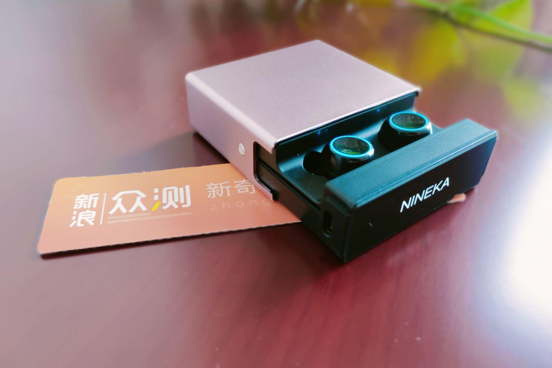 Nineka N2,可兼做移动电源的真无线蓝牙耳机